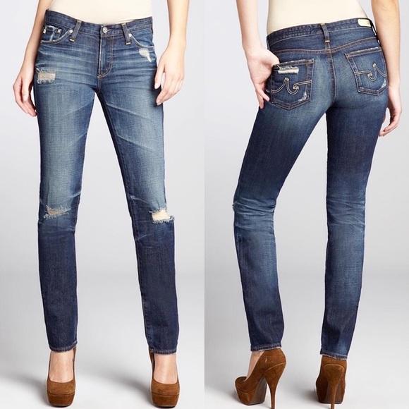 AG ADRIANO GOLDSCHMIED Premiere Skinny Jeans